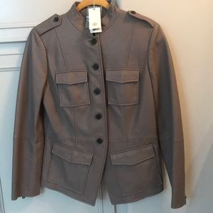Brand new Tory Burch leather jacket